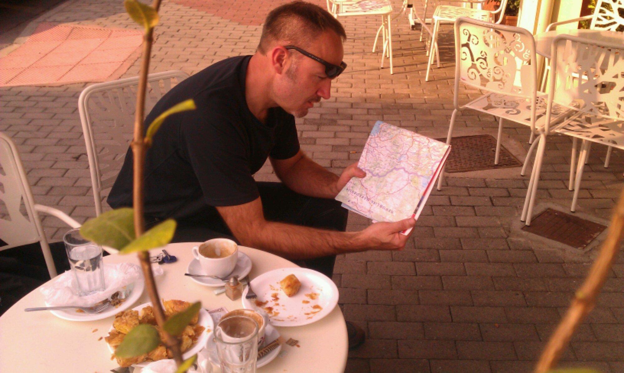 Navigating to Edessa