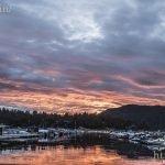 Sunset on Bear Lake