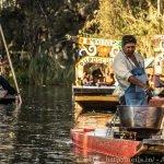Xochimilco food peddler
