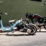 Some weird looking bikes in San Cristobal