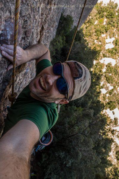 Climbing El Vermell del Xincarró